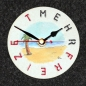 "Mobile Preview: Uhrnikate Beermat Wallclock ""More Free Time"" - ""Mehr Freizeit"""