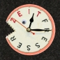 "Mobile Preview: Uhrnikate Beermat Wallclock ""Time Eater"" - ""Zeitfresser"""