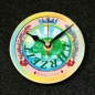 "Preview: Uhrnikate Beermat Wallclock ""Kingtime"" -2"