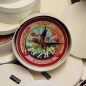 "Mobile Preview: Uhrnikate Beermat Wallclock ""Kingtime"" -6"