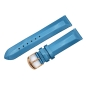 Mobile Preview: Vostok Europe Undine strap / 20 mm / blue / rose buckle