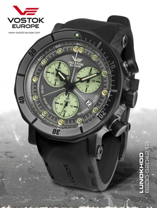 Watches, Parts & Accessories 2019 Fashion Vostok Europe Lunokhod 2 Grand Chrono 6s30-6203211 Other Watches