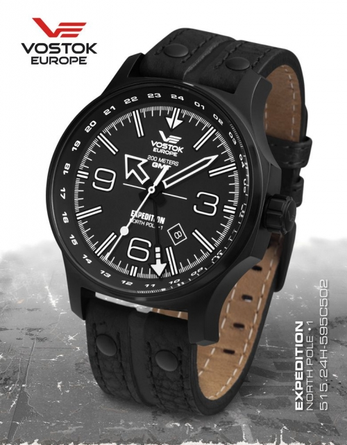 Vostok Europe Expedition North Pole 1 Dual Time 515.24H-595C502