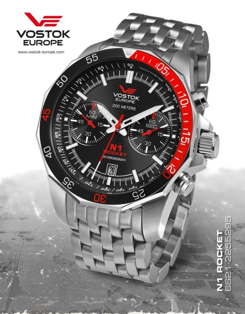 Vostok Europe Rocket N1 Chronograph Quartz 6S21-2255295b