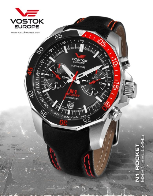 Vostok Europe Rocket N1 Chronograph Quartz 6S21-2255295