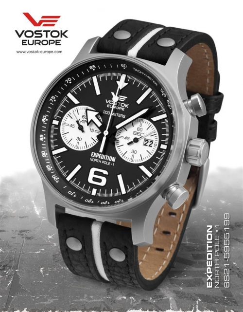 Vostok Europe Expedition North Pole 1 Chronograph 6S21-5955199