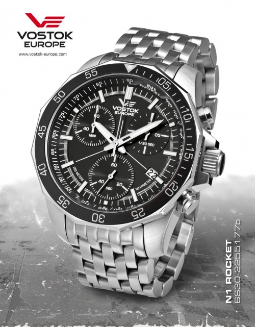 Vostok Europe Rocket N1 Chronograph Quartz 6S30-2255177b