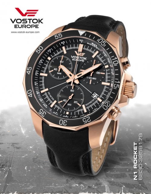 Vostok Europe Rocket N1 Chronograph Quartz 6S30-2259179