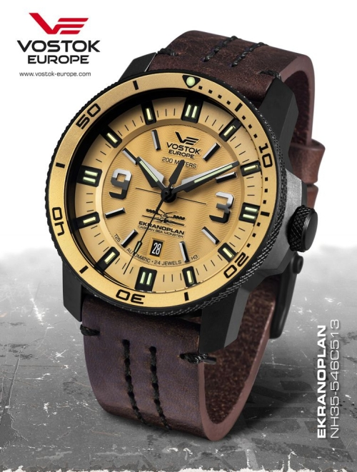 Vostok Europe Ekranoplan Automatic NH35A-546C513