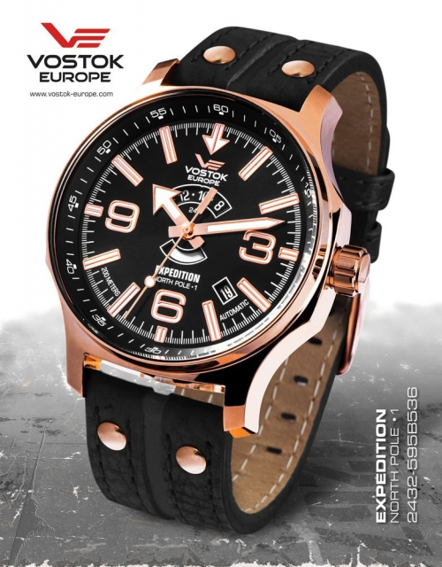 Vostok Europe Expedition Automatic 2432-595B536