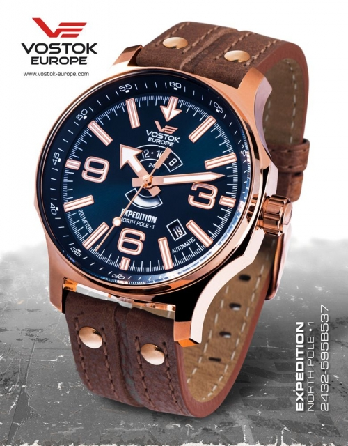 Vostok Europe Expedition Automatic 2432-595B537