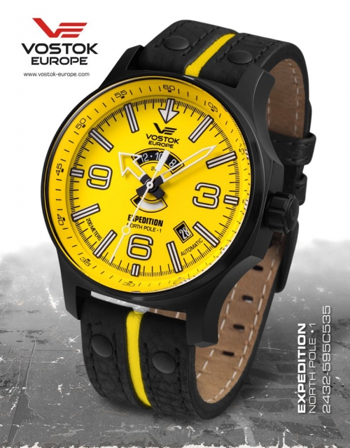 Vostok Europe Expedition Automatic 2432-595C535