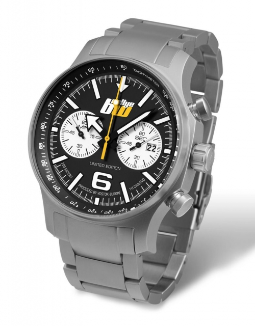 Vostok Europe Expedition Chronograph 595-RBW -b