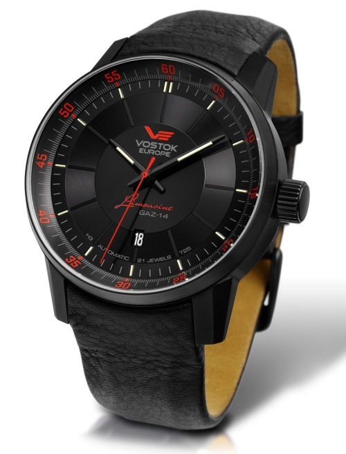 Vostok Europe GAZ 14 Automatic with Trigalight NH35A-5654140