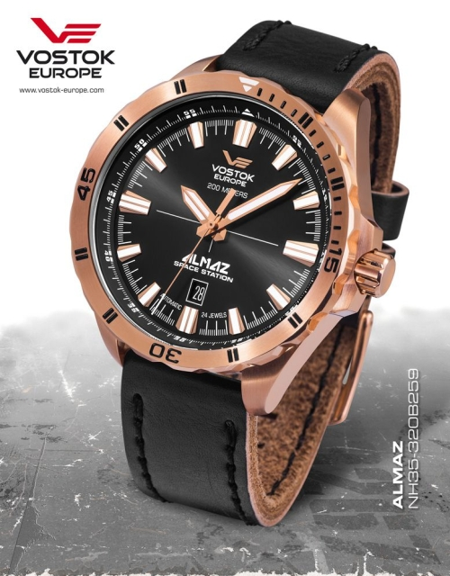 Vostok Europe Almaz Automatic NH35A-320B259