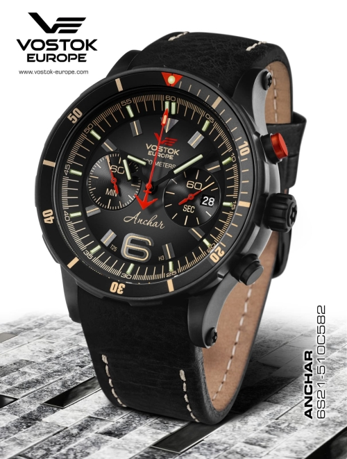 Vostok Europe Anchar Chronograph Quartz 6S21-510C582