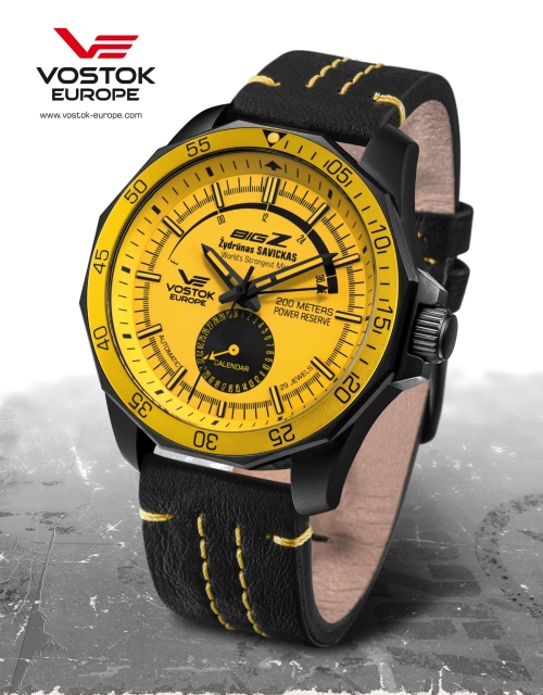 Vostok Europe BIG Z Black Special Edition NE57-225C418