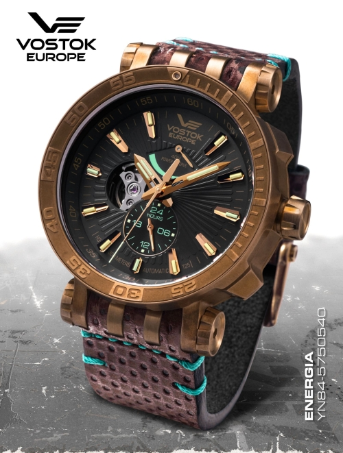 Vostok Europe Energia Rocket Automatic Power Reserve YN84-575O540