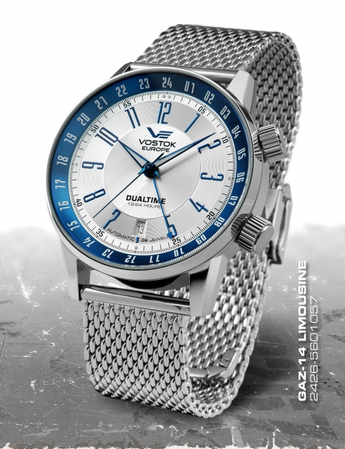 Vostok Europe GAZ 14 Automatic Dual Time 2426-5601057-B