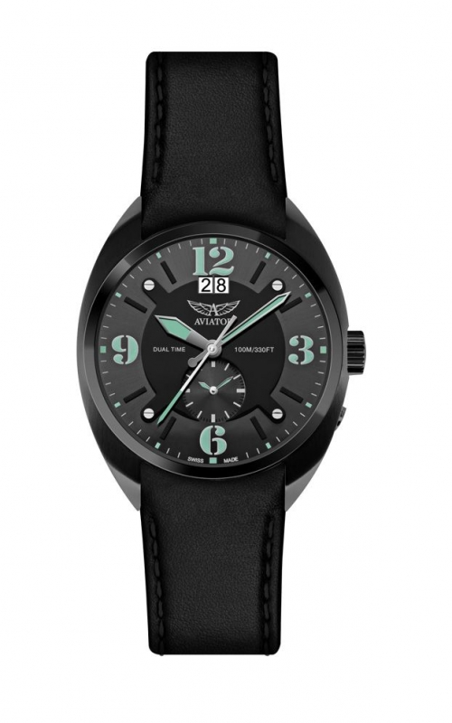 Aviator Swiss MIG 21 Fishbed Dual Time M.1.14.5.084.4