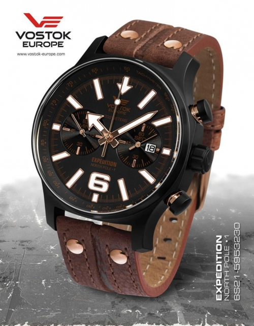 Vostok Europe Expedition North Pole 1 Chronograph 6S21-5953230