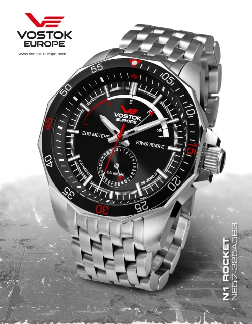Vostok Europe Rocket N1 Automatic Power Reserve NE57-225A563-B