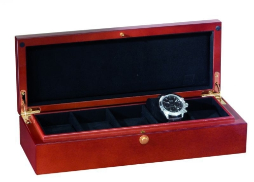 "Watch Collector`s box ""Atlantic"" for 5 watches - WOOD"