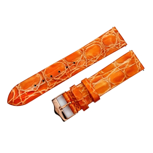 Vostok Europe Ladies N1 leather strap / 20 mm / orange / rose buckle