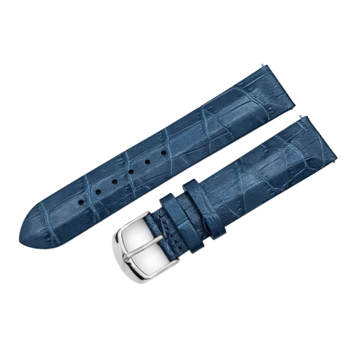 Vostok Europe Undine strap / 20 mm / blue / polished buckle