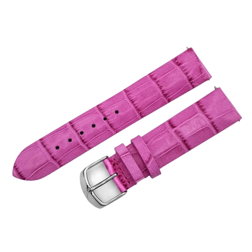 Vostok Europe Undine strap / 20 mm / purple / polished buckle
