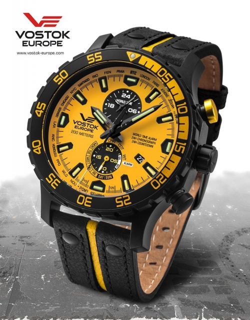 Vostok Europe Expedition Everest Underground Multifunktion YM8J-597C548