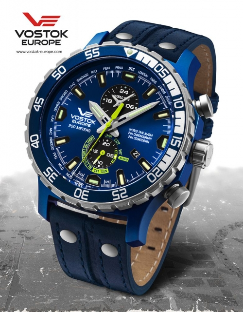 Vostok Europe Expedition Everest Underground Multifunktion YM8J-597E546