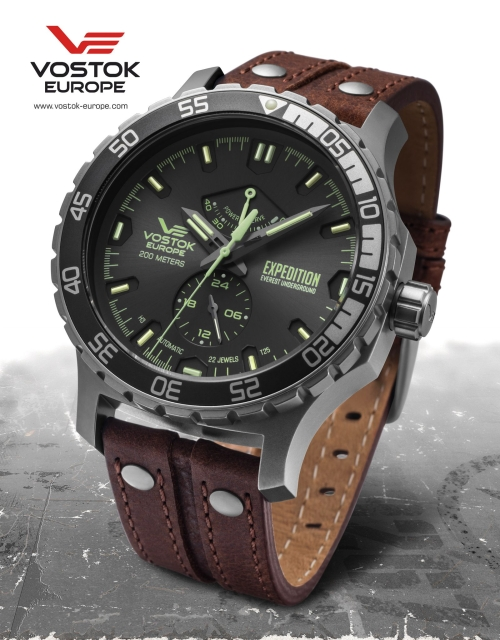 Vostok Europe Expedition Everest Underground Automatic YN84-597A543