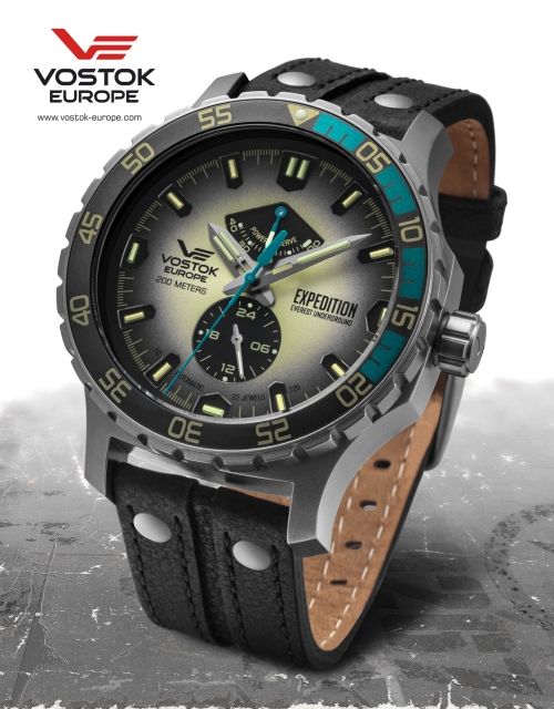 Vostok Europe Expedition Everest Underground Automatik YN84-597A544