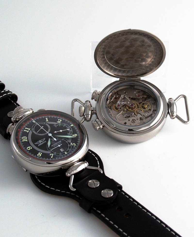 "Aviator ""Wings"" Chronograph A 31679-2941026-S"
