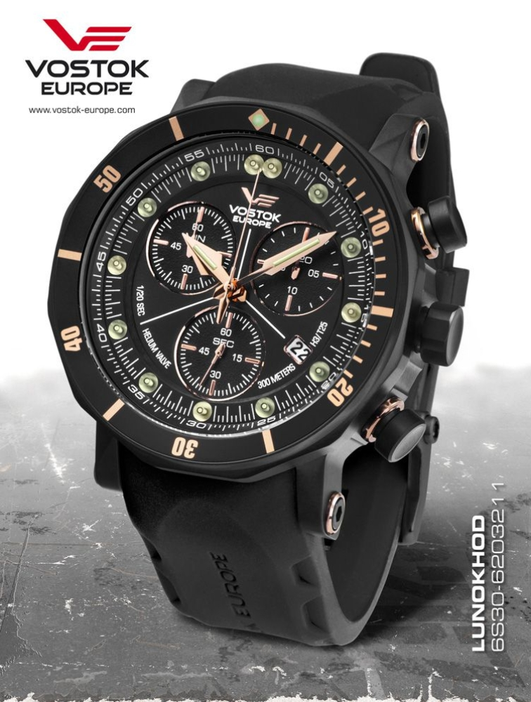 Vostok Europe Lunokhod 2 Grand Chrono 6S30-6203211-S