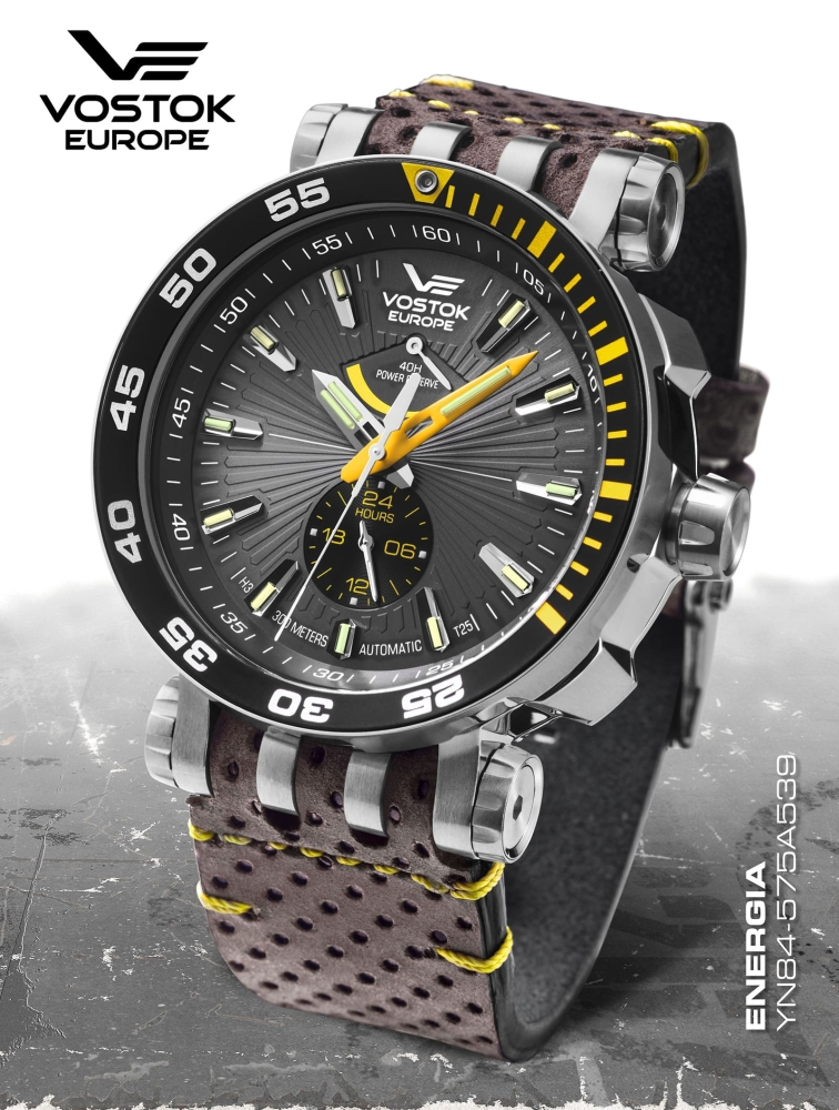 Vostok Europe Energia Rocket Automatic Power Reserve YN84-575A539