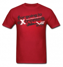 "Vostok Europe T-Shirt ""Extremes"" red"