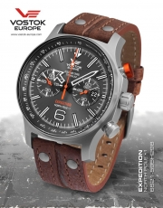 Vostok Europe Expedition Nordpol 1 Chrono Titan 6S21-595H298