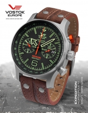 Vostok Europe Expedition Nordpol 1 Chrono Titan 6S21-595H299