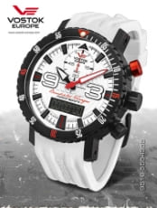 Vostok Europe Benediktas Vanagas White Edition 9516-5554355