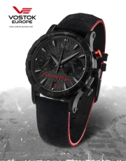 Vostok Europe Benediktas Vanagas Black Edition Ladies VK64-515C395