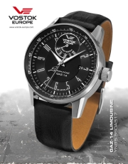 Vostok Europe GAZ 14 Automatic Power Reserve YN85-560A517