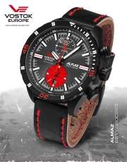 Vostok Europe Almaz Chrono 6S11-320C260
