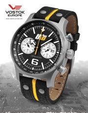 Vostok Europe Expedition Chronograph Rallye BW 595-RBW
